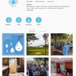 Instagram und Grafische Unterstützung für WeWater